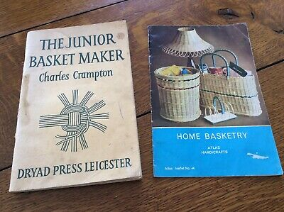 The Junior Basket Maker And Home Basketry Booklets