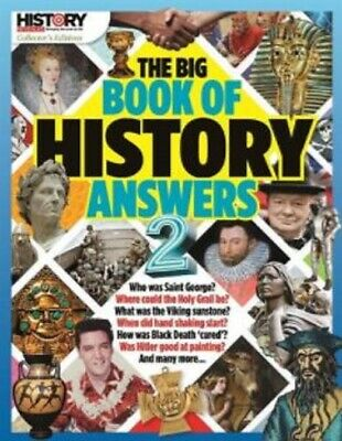 History Revealed Magazine The Big Book Of History Answers 2 ~ New ~