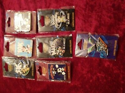 WDW Disney 2018 Marathon pins 7 different pins WOW