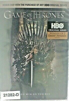 NEW *Sealed* DVD Movie GAME OF THRONES EPISODE 1 WINTER IS COMING 07 e