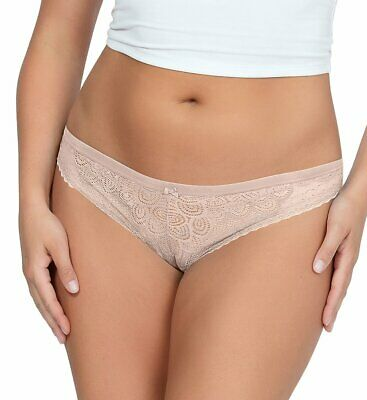 Parfait By Affinitas Nina Thong Large #11D427 Nude
