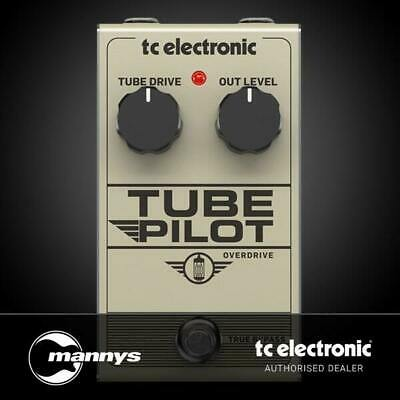 TC Electronic Tube Pilot Overdrive 12AX7-Equipped Real Tube Overdrive Pedal