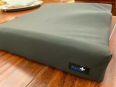 "Relia+ Contour Foam Cushion 16x16x3"" Seat, Wheelchair, Hip & Posture Support"