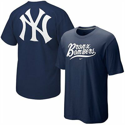 34c2c993f NIKE NEW YORK Yankees Mlb Official Team Local Phrase Navy Blue Adult ...
