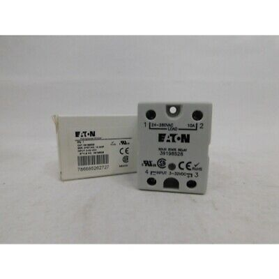 Eaton 39198528 Solid State Relay, 10A, SPST