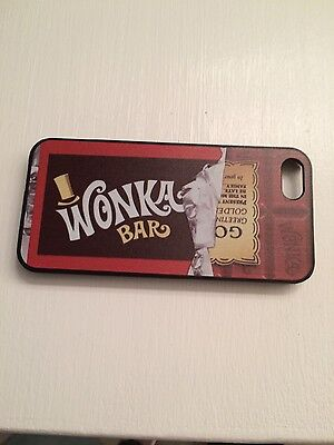 WILLY WONKA BAR GOLDEN TICKET CHARLIE&THE CHOCOLATE FACTORY CASE FOR IPHONE 6/6s