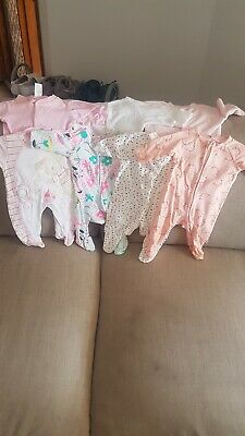 Bulk Lot Of Newborn Clothes For Baby Girl - Size 0000