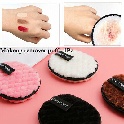 Microfiber Makeup Remover Towel  Plush puff Cleansing Cloth Pads Face Cleaner