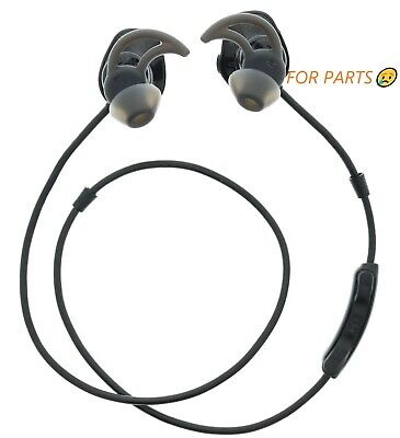 Bose SoundSport Bluetooth Wireless Headphones Neckband Black PARTS😢 WORKS!