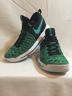 new arrival 51c02 76cde Nike Zoom KD 9 Birds of Paradise Size 10.5 green black blue Kevin Durant