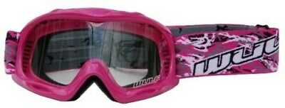 Cub Wulfsport Kinder Abstrakte Wulf Mx Motocross Brille Rosa One Size Bc33925 -