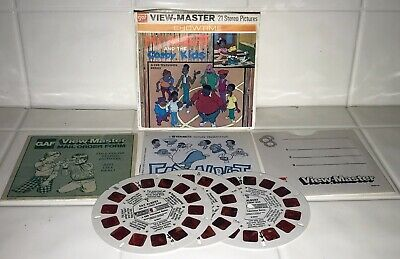 View-Master FAT ALBERT and the Cosby Kids B554 - 3 Reel Set + Booklet