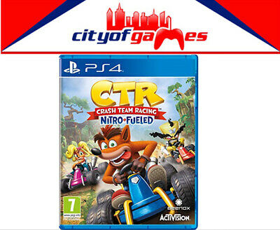 CTR Crash Team Racing Nitro Fueled PS4 Game Brand New In Stock