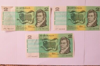 Two Dollar Notes Australian