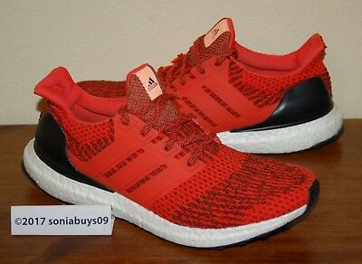 3b4d4a6051c ADIDAS ULTRA BOOST 3.0 S80635 SIZE 9.5 Energy Red -  125.00
