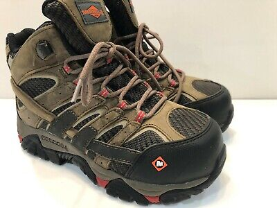 a758ee20c6f NEW WOMENS MERRELL Moab 2 Vent Mid Waterproof Comp Toe Work Hiking ...
