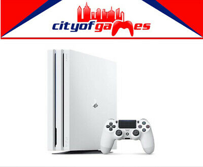 PlayStation 4 Console Pro 1TB White  Brand New