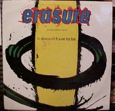 """Erasure It Doesn't Have To Be Limited Uk 12"""""""