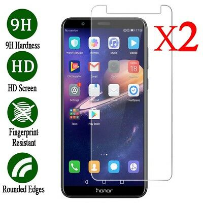 2Pcs Tempered Glass Film Screen Protection For Huawei Honor 6X 7 8X 8 9 Lite 10