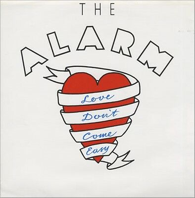 "Alarm Love Don't Come Easy - UK 12"" w poster"