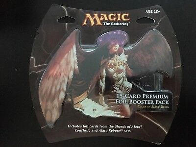 Magic 15cd Premium Foil Booster Pack Shards of Alara Block Conflux Alara Reborn
