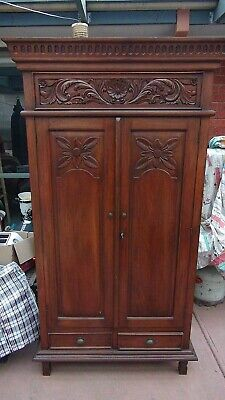 Cabinet Antique Handmade Old Cabinet with locking Key