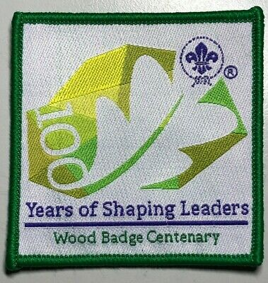 Scouts Wood Badge Centenary, Commemorating 100 Years of Leader Training, WORLD