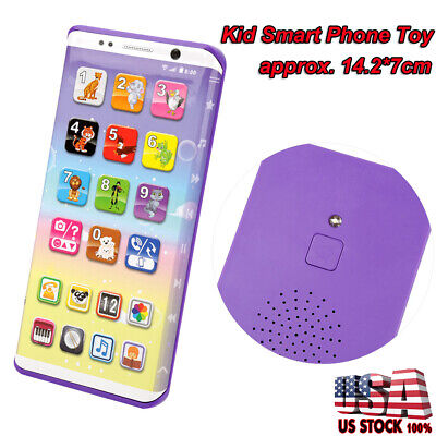 Educational Smart Phone Toy With USB Port Touch Screen for Child Kid Baby