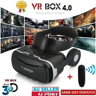 VR Box 3D VR Glasses Virtual Reality Headset Goggles for 3D Movies Video Games