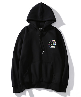 New Auth Anti Social Social Club ASSC Masochism Hooded pullover sweater SUPREME
