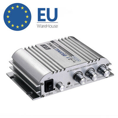 DC12V HiFi 2.1 Channel Stereo Power Amplifier Bass Subwoofer Audio Amp Car/Home