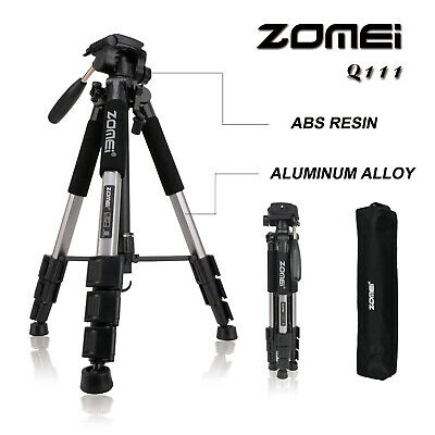 """Zomei Q111 Tripod Trépied 55"""" Light Weight Compact Portable Folding for Camera"""