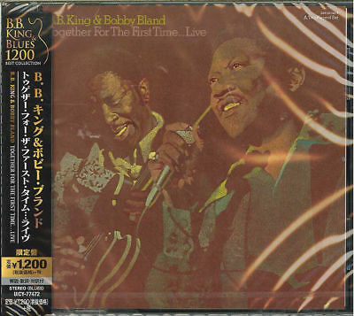 B.B. KING & BOBBY BLAND-TOGETHER FOR THE FIRST TIME...LIVE-JAPAN CD Ltd/Ed C15