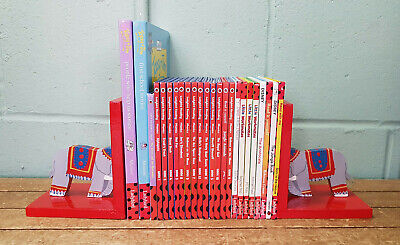 Collection Ladybird Phonics and Early Reading Books With Elephant Bookends B2