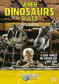 When Dinosaurs Ruled - South America (DVD, 2005) N036