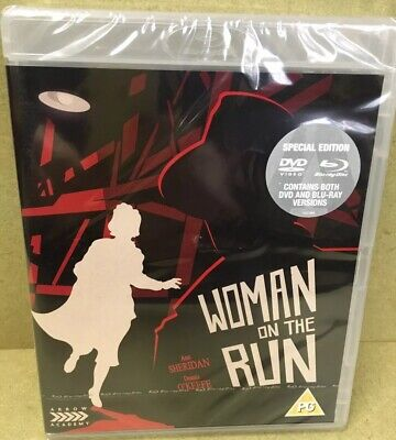 Woman On The Run Dual Format Blu-ray + DVD New And Sealed