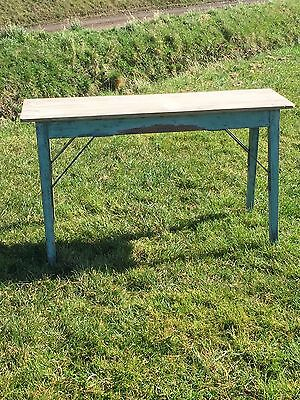 Vintage Victorian Edwardian Painted Shabby Chic Table