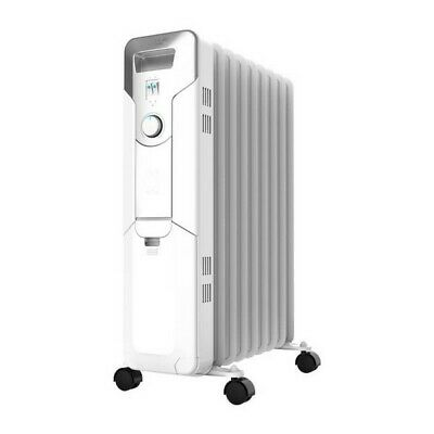 Oil-filled Radiator (9 chamber) Cecotec Ready Warm 5650 Space 2000W White