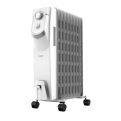 Oil-filled Radiator (9 chamber) Cecotec Ready Warm 5800 Space 360º 2000W White