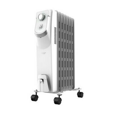 Oil-filled Radiator (7 chamber) Cecotec Ready Warm 5750 Space 360º 1500W White