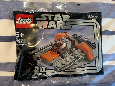 LEGO STAR WARS 30384 20th ANNIVERSARY SNOWSPEEDER POLYBAG - NEW AND SEALED