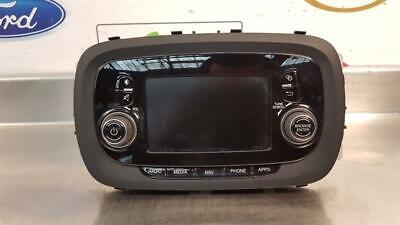 Fiat 500X 2017+ User Interface Cd Player Sat Nav Head Unit Display 91857403N
