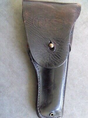 Boyt 1943 Us Ww2 Colt 45 M1911 Leather Holster Genuine In Solid Condition
