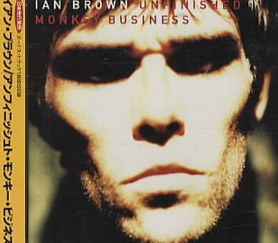 Ian Brown Unfinished Monkey Business Japanese CD album (CDLP) promo POCP-7272