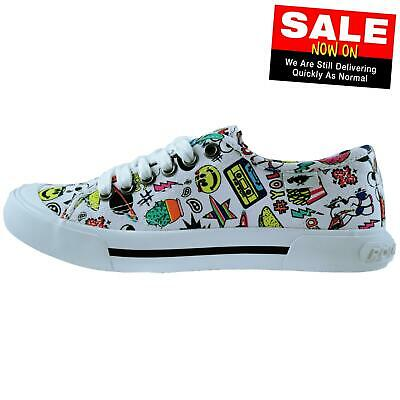Rocket Dog Jumpin Swag Women's Girls Casual Fashion Plimsoll Pumps Trainers