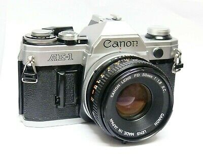 Canon Ae-1 + 50Mm F1.8 Standard Lens. Excellent Condition.