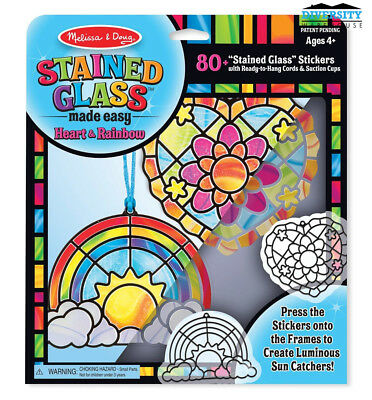 M&D Stained Glass Made Easy - Heart & Rainbow