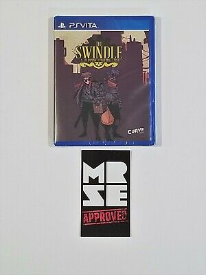 The Swindle Limited Run Games #41 for Sony PS Vita New Sealed