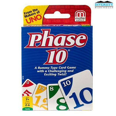 Phase 10 Card Game Intl