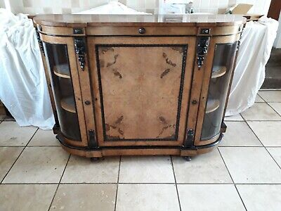 victorian walnut credenza, beautiful quality ,